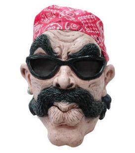 Masque motard bandana