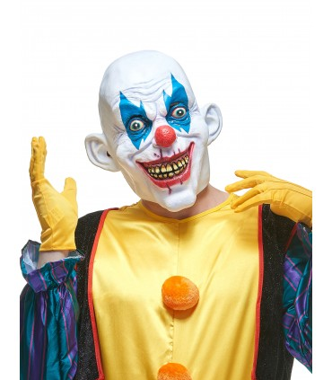Masque latex clown maléfique