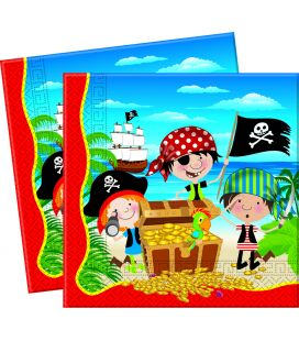 Serviette pirate