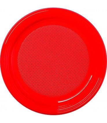 Assiette ronde repas en couleur