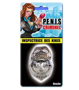 Badge inspectrice des kikis