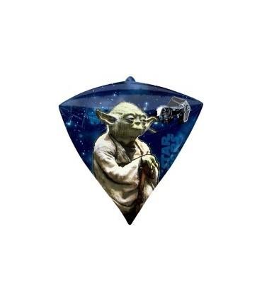 Ballon mylar diamant yoda