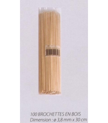 Pique brochette 30 cm